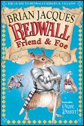 Redwall Friend and Foe: The Guide to Redwall's Heroes and Villains with Poster Cover