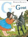 G Is For Goat Board Book