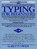 Typing for Beginners (Practical Handbook Series)