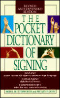 The Pocket Dictionary of Signing Cover