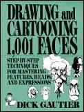 Drawing & Cartooning 1001 Faces