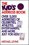 Kids Address Book Over 2000 Addresses Of