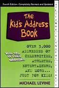 Kids Address Book Over 3000 Addresses