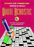 Quote Acrostic 06