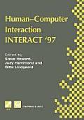 Human-Computer Interaction: Interact '97