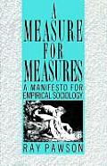 Measure for Measure: Manifesto