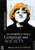 Introduction to Language and Society (Novel in History)