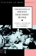 The Meaning of Infant Teachers' Work