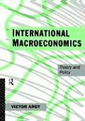 International Macroeconomics: Theory and Policy