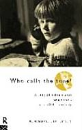 Who Calls the Tune: A Psychodramatic Approach to Child Therapy