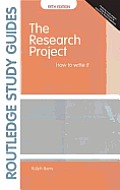 The Research Project: How to Write It