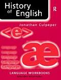 History of English 2ND Edition