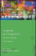 Language and Linguistics: The Key Concepts