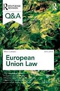 Q&A European Union Law 2013-2014 (Questions and Answers)