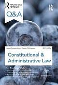 Q&A Constitutional & Administrative Law 2011-2012 (Questions and Answers) Cover