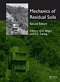Mechanics of Residual Soils, Second Edition Cover