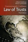 Commonwealth Caribbean Law of Trusts: Third Edition (Commonwealth Caribbean Law)