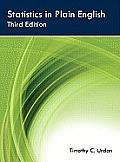 Statistics in Plain English 3rd Edition