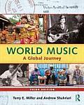 World Music: A Global Journey - Hardback & CD Set Value Pack