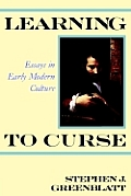 Learning To Curse Essays In Early Modern