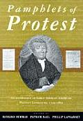 Pamphlets of Protest An Anthology of Early African American Protest Literature 1790 1860