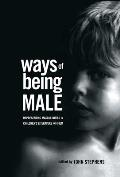 Controversies in Constitutional Law #19: Ways of Being Male: Representing Masculinities in Children's Literature Cover