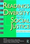 Readings for Diversity and Social Justice Cover