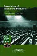*bowett's Law of International Institut (01 Edition)