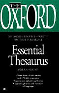 The Oxford Essential Thesaurus (Oxford)