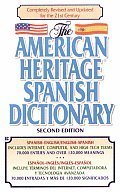 American Heritage Spanish Dictionary Spanish English English Spanish