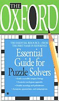 Oxford Essential Guide For Puzzle Solvers