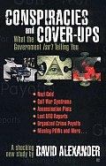 Conspiracies and Cover-Ups