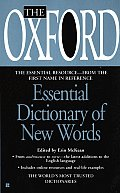 Oxford Essential Dictionary Of New Words