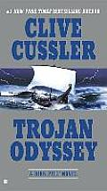 Trojan Odyssey: A Dirk Pitt Novel (Dirk Pitt Adventures) Cover