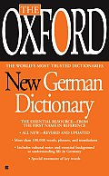 Oxford New German Dictionary German English English German Deutsch Englisch Englisch Deutsch