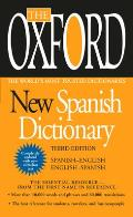 Oxford New Spanish Dictionary (3RD 09 Edition)