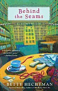 Behind the Seams (Crochet Mysteries) Cover