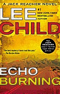 Jack Reacher Novels #5: Echo Burning Cover