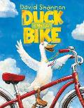 Duck on a Bike Cover