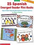 25 Spanish Emergent Reader Mini Books