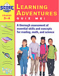 Learning Adventure Quiz Me!  Grades 3-4