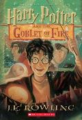 Harry Potter and the Goblet of Fire (Harry Potter #4) Cover