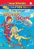 Magic School Bus Chapter Books #07: The Great Shark Escape Cover
