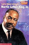 Lets Read About Martin Luther King JR Cover