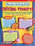 Marvelous Month By Month Writing Prompts