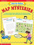 Fun-To-Solve Map Mysteries Cover
