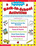 Best Ever Back To School Activities