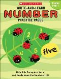 Number Practice Pages (Write-And-Learn)