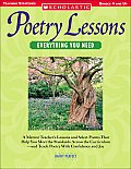 Poetry Lessons Everything You Need A Mentor Teachers Lessons & Select Poems That Help You Meet the Standards Across the Curriculum & Teach Poet