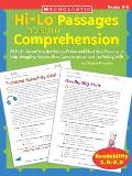 Hi/Lo Passages to Build Reading Comprehension Grades 4-5: 25 High-Interest/Low Readability Fiction and Nonfiction Passages to Help Struggling Readers